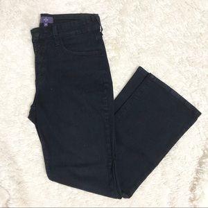 NYDJ Dark Wash Bootcut Jeans Size 6P